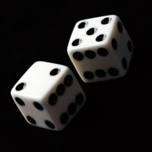 gabmle with dice